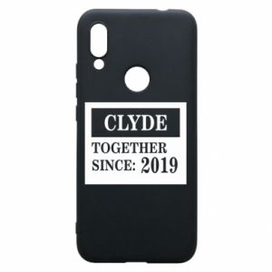 Phone case for Xiaomi Redmi 7 Clyde Together since: 2019 - PrintSalon