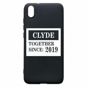 Phone case for Xiaomi Redmi 7A Clyde Together since: 2019 - PrintSalon