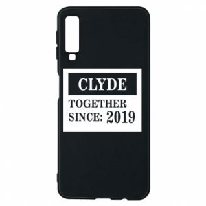 Phone case for Samsung A7 2018 Clyde Together since: 2019 - PrintSalon