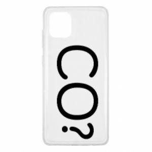 Samsung Note 10 Lite Case WHAT? Polish version