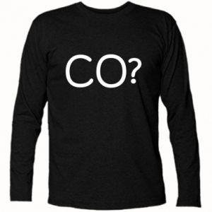 Koszulka z długim rękawem CO?