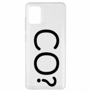 Samsung A51 Case WHAT? Polish version