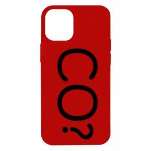iPhone 12 Mini Case WHAT? Polish version