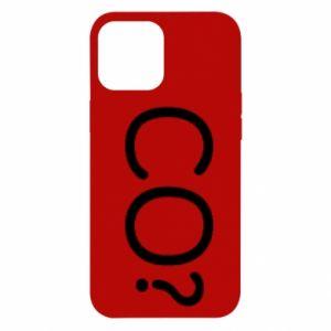 iPhone 12 Pro Max Case WHAT? Polish version