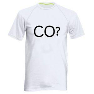 Men's sports t-shirt WHAT? Polish version