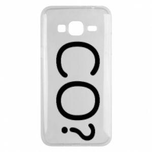 Phone case for Samsung J3 2016 WHAT? Polish version