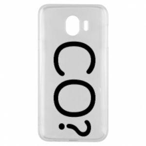 Phone case for Samsung J4 WHAT? Polish version