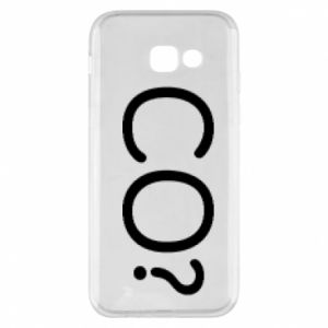 Phone case for Samsung A5 2017 WHAT? Polish version