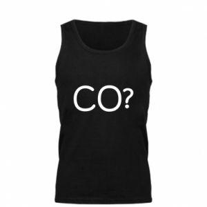 Męska koszulka CO?