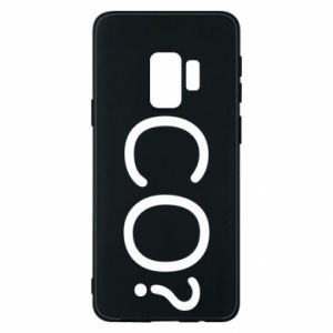 Phone case for Samsung S9 WHAT? Polish version