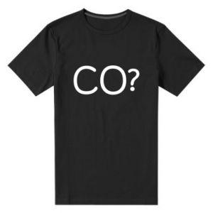 Koszulka premium męska CO?