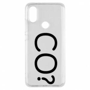 Phone case for Xiaomi Mi A2 WHAT? Polish version