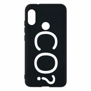 Phone case for Mi A2 Lite WHAT? Polish version