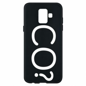 Phone case for Samsung A6 2018 WHAT? Polish version
