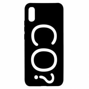 Xiaomi Redmi 9a Case WHAT? Polish version