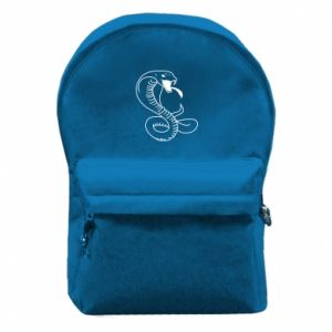 Backpack with front pocket Cobra