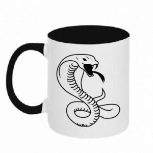 Two-toned mug Cobra