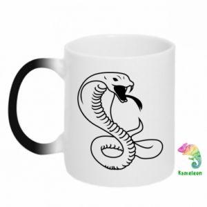 Kubek-kameleon Cobra