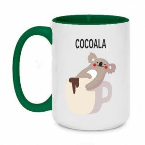 Two-toned mug 450ml Cocoala