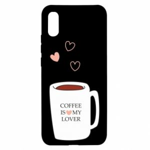Xiaomi Redmi 9a Case Coffee is my lover