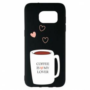 Etui na Samsung S7 EDGE Coffee is my lover