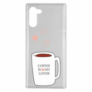 Etui na Samsung Note 10 Coffee is my lover