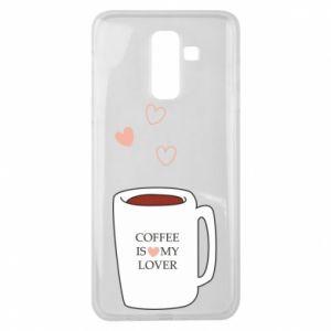 Etui na Samsung J8 2018 Coffee is my lover