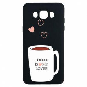 Etui na Samsung J7 2016 Coffee is my lover