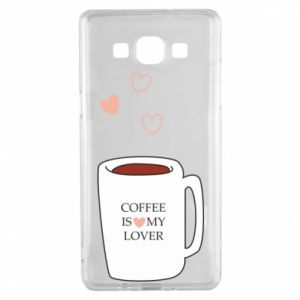 Etui na Samsung A5 2015 Coffee is my lover