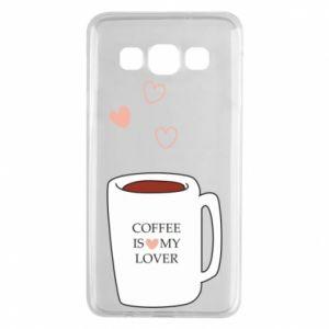 Etui na Samsung A3 2015 Coffee is my lover