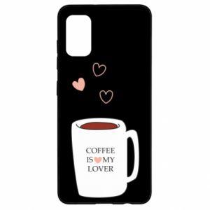 Etui na Samsung A41 Coffee is my lover