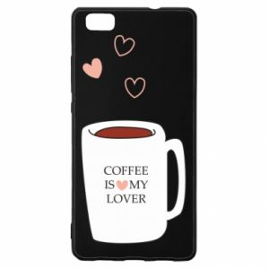 Etui na Huawei P 8 Lite Coffee is my lover