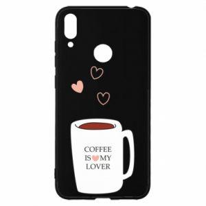 Etui na Huawei Y7 2019 Coffee is my lover