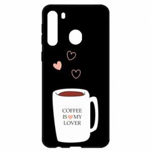 Etui na Samsung A21 Coffee is my lover