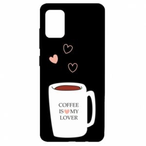 Etui na Samsung A51 Coffee is my lover