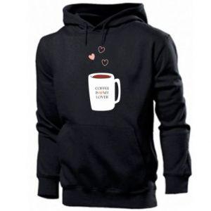 Men's hoodie Coffee is my lover