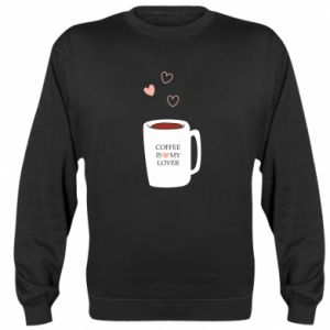 Bluza (raglan) Coffee is my lover