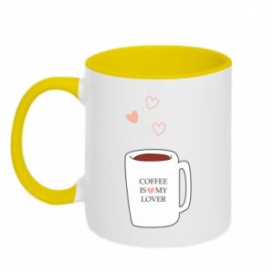 Kubek dwukolorowy Coffee is my lover