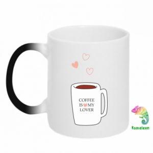 Kubek-kameleon Coffee is my lover