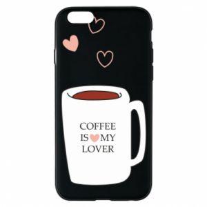 Etui na iPhone 6/6S Coffee is my lover