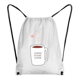 Plecak-worek Coffee is my lover