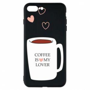 Etui na iPhone 7 Plus Coffee is my lover