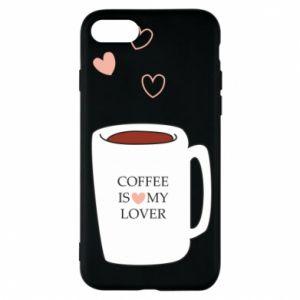 Etui na iPhone 8 Coffee is my lover