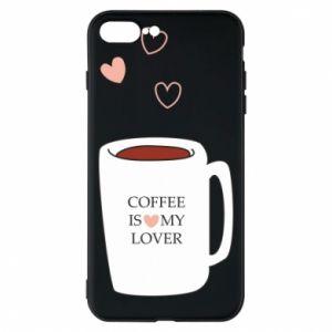 Etui na iPhone 8 Plus Coffee is my lover