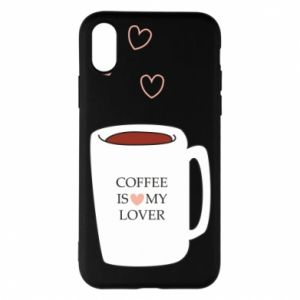 Etui na iPhone X/Xs Coffee is my lover