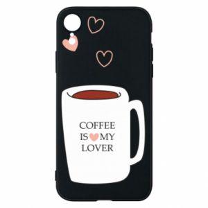 Etui na iPhone XR Coffee is my lover