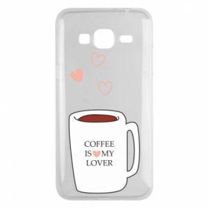 Etui na Samsung J3 2016 Coffee is my lover