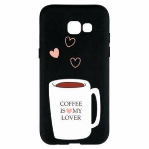 Etui na Samsung A5 2017 Coffee is my lover