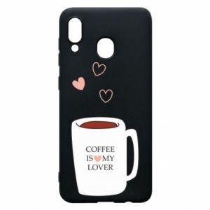 Etui na Samsung A20 Coffee is my lover