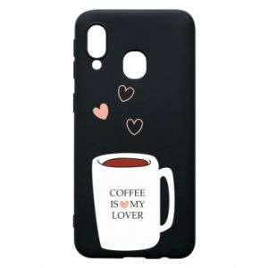 Etui na Samsung A40 Coffee is my lover